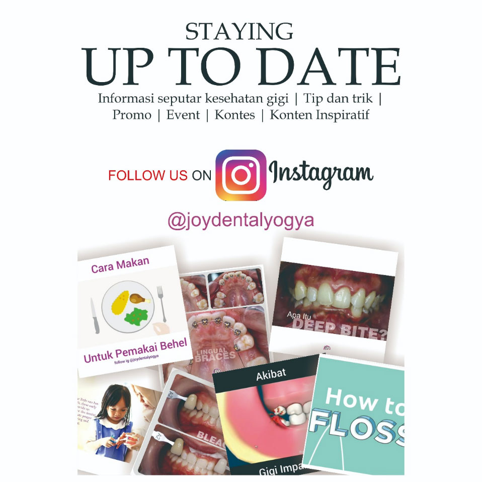 follow instagram joy dental