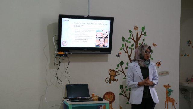 Talkshow Seputar Kesehatan Gigi Balita di TK Pelangi
